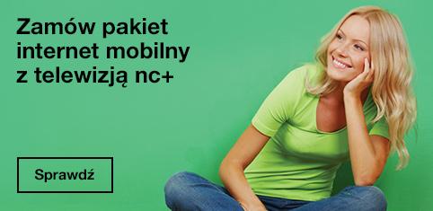 Nowy pakiet nc+ i internet mobilny Orange