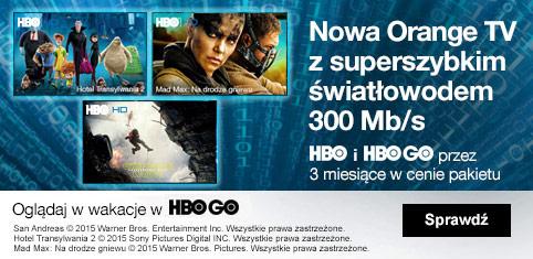 Orange TV z HBO GO